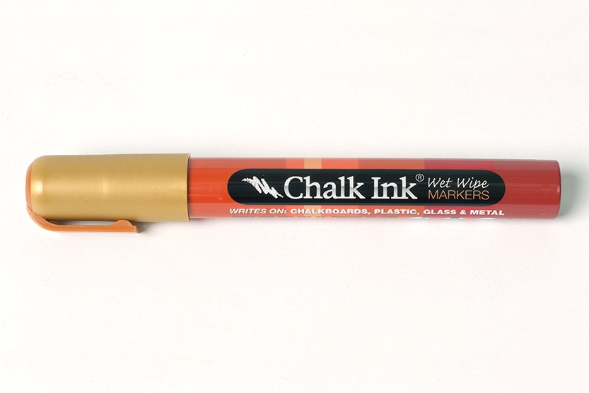 CHALK GOLD PEN $8