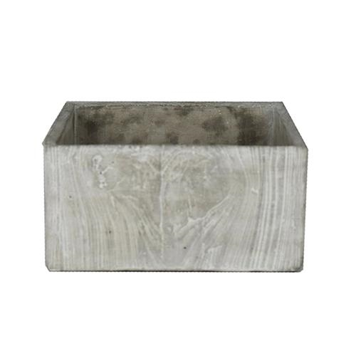 CONCRETE SQUARE PLANTER $15
