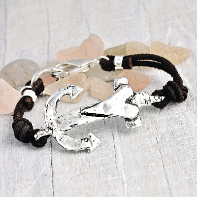 'ANCHOR YOUR SOUL' BRACELET $70