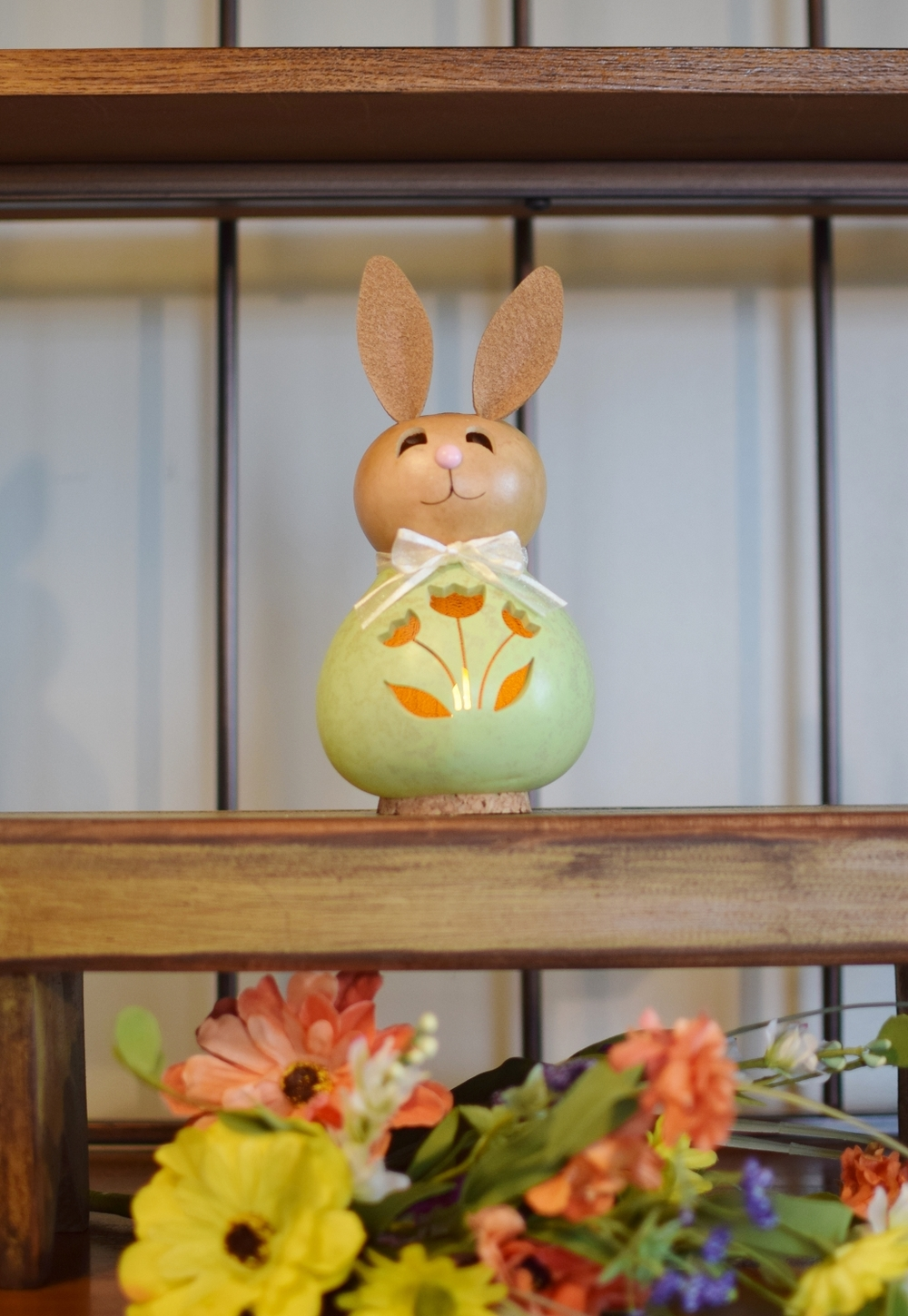 NATALIE SMALL BUNNY - GREEN $27
