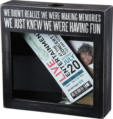 MAKING MEMORIES' SHADOW BOX $35