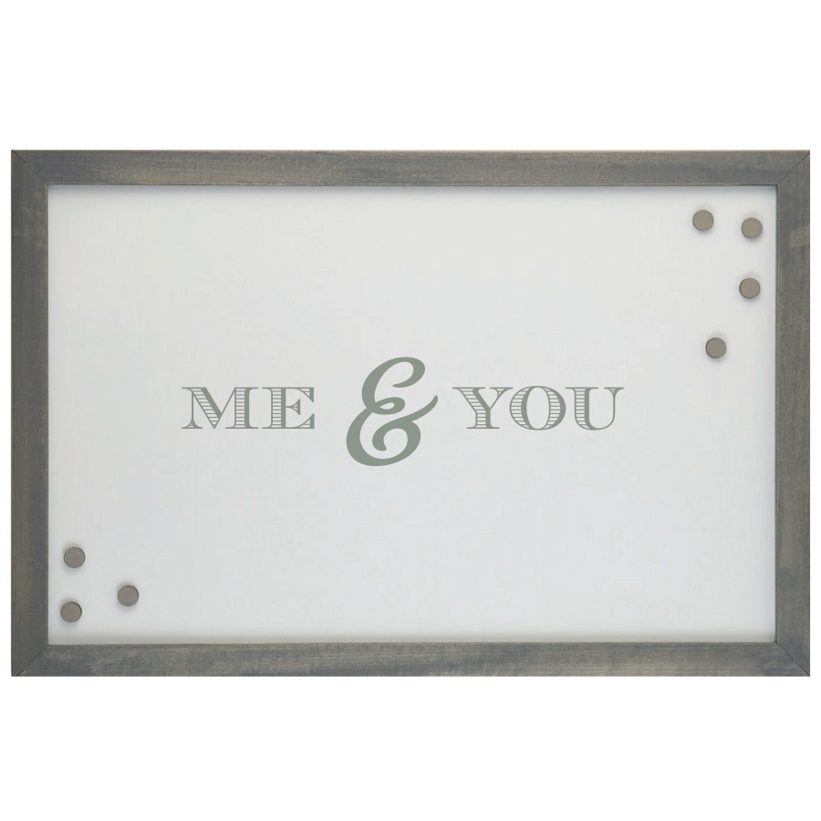 ME & YOU MAGNETIC BOARD  $80