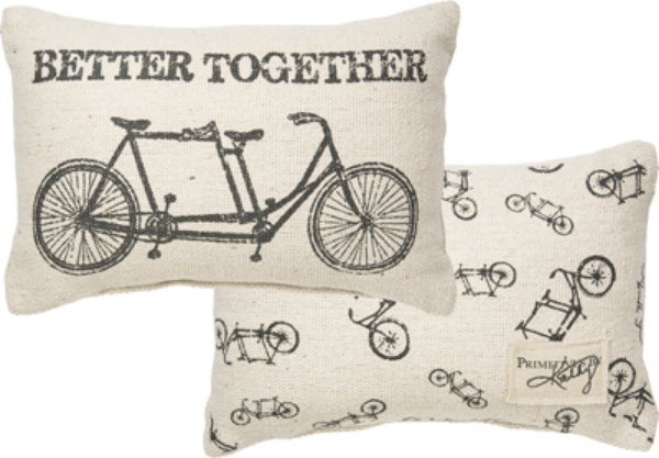 BETTER TOGETHER' DECORATIVE PILLOW $23