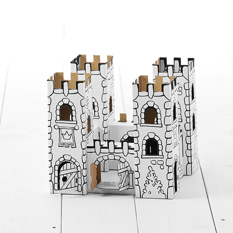 "DRAGON ROCK CASTLE  $16    9.4"" x 9.4"" x 8.5""  Includes 4 markers"