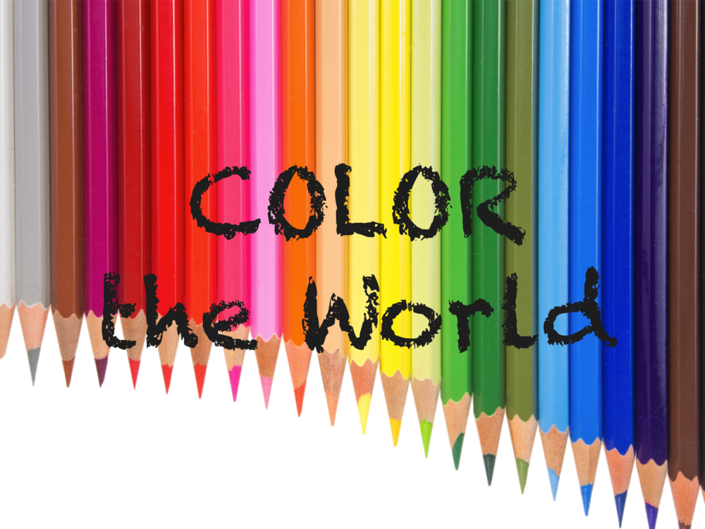 Let's pull out the colors and get creative!