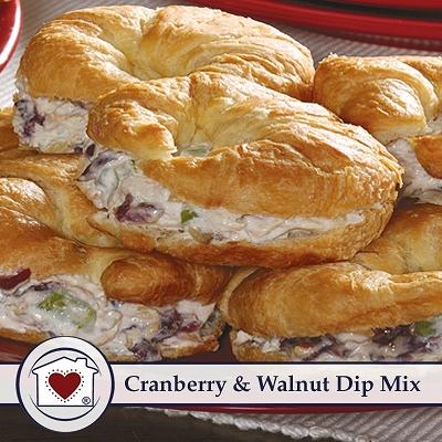 Cranberry & Walnut Dip Mix     $ 5
