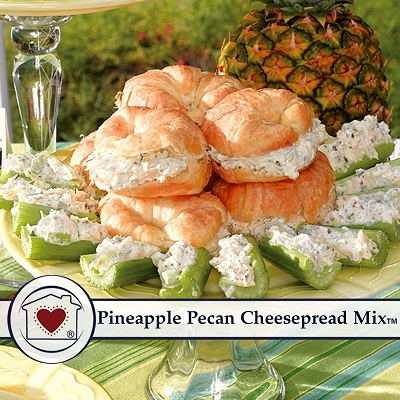 Pineapple Pecan Cheesespread Mix           $ 5