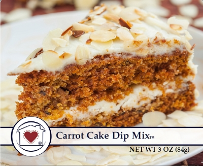Carrot Cake Dip/Spread Mix          $ 5