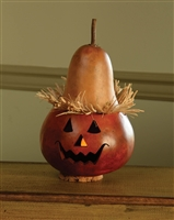 Alex the Scarecrow Mini Painted Gourd          $20