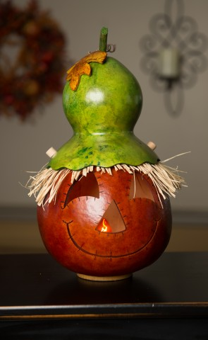 Owen Large Gourd Lit     $57