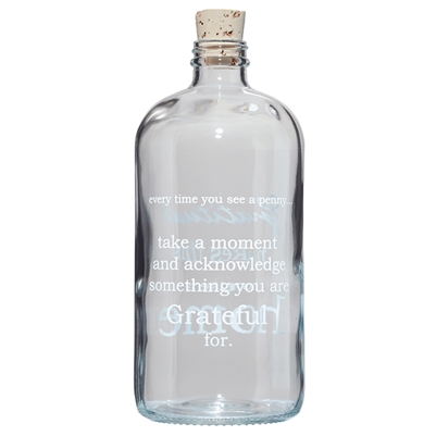 Be a Good one Apothecary Jar     $28