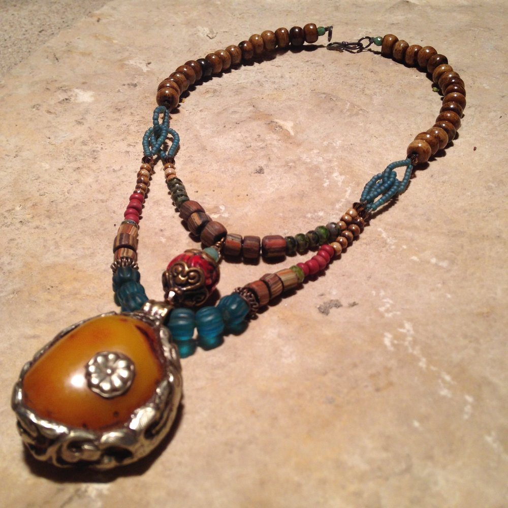 COPAL DOUBLE Necklace $244