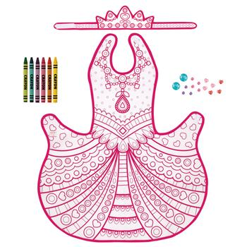 PRINCESS COLOR YOUR OWN COSTUME  $10