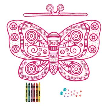 BUTTERFLY COLOR YOUR OWN COSTUME  $10