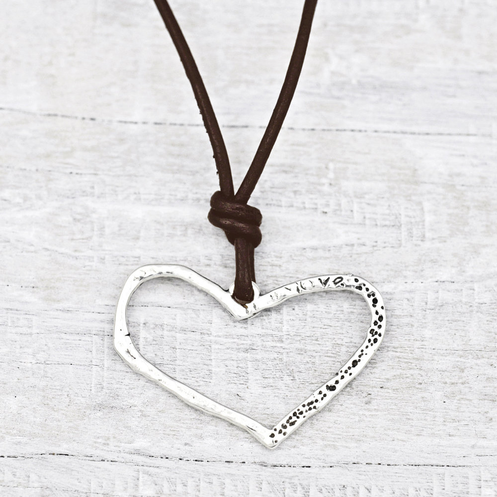 HEART ON A STRING NECKLACE  $56