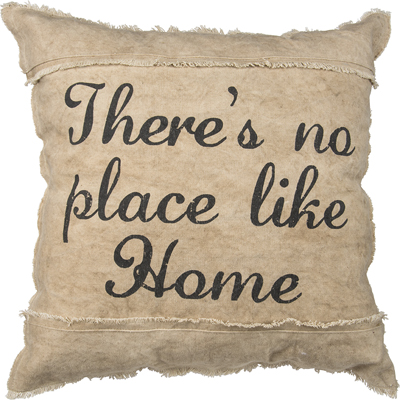 NO PLACE LIKE HOME' DECORATIVE PILLOW  $56