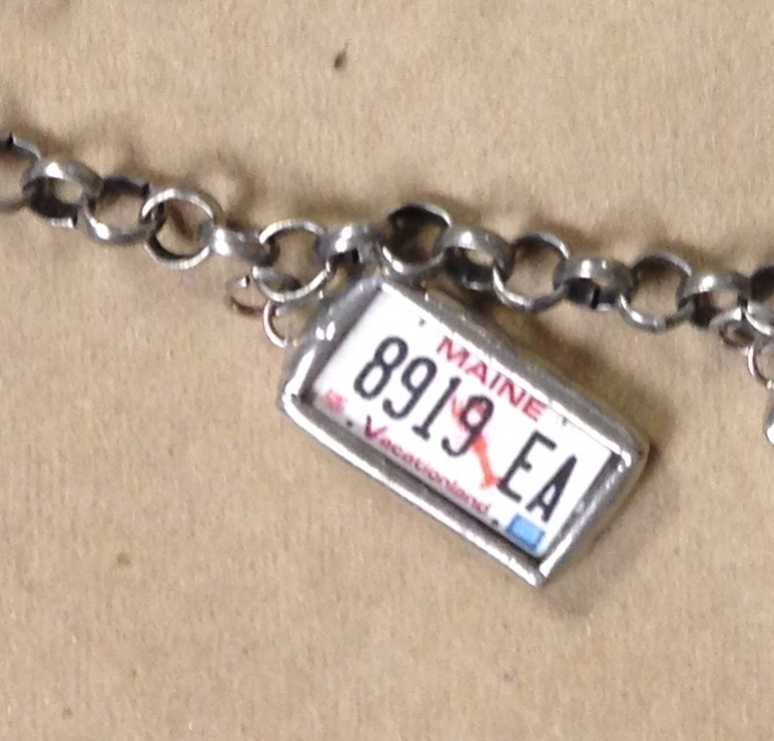 License Plate Charms