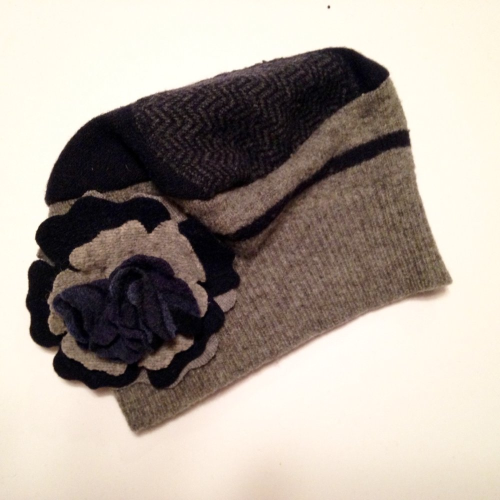 1-OF-A-KIND LARGE FLOWER HAT   $50 SALE $36  Other colors shown at live event