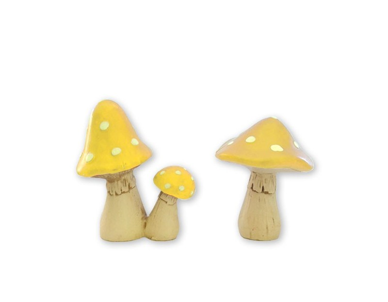 'LIL MUSHROOMS - Sunshine Yellow $11