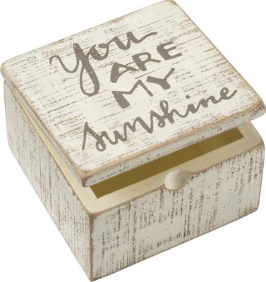 MY SUNSHINE SLAT BOX SIGN $12