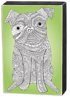 'DOG' COLORING SIGN  $23