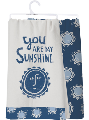 SUNSHINE DISH TOWEL Set/2 $18
