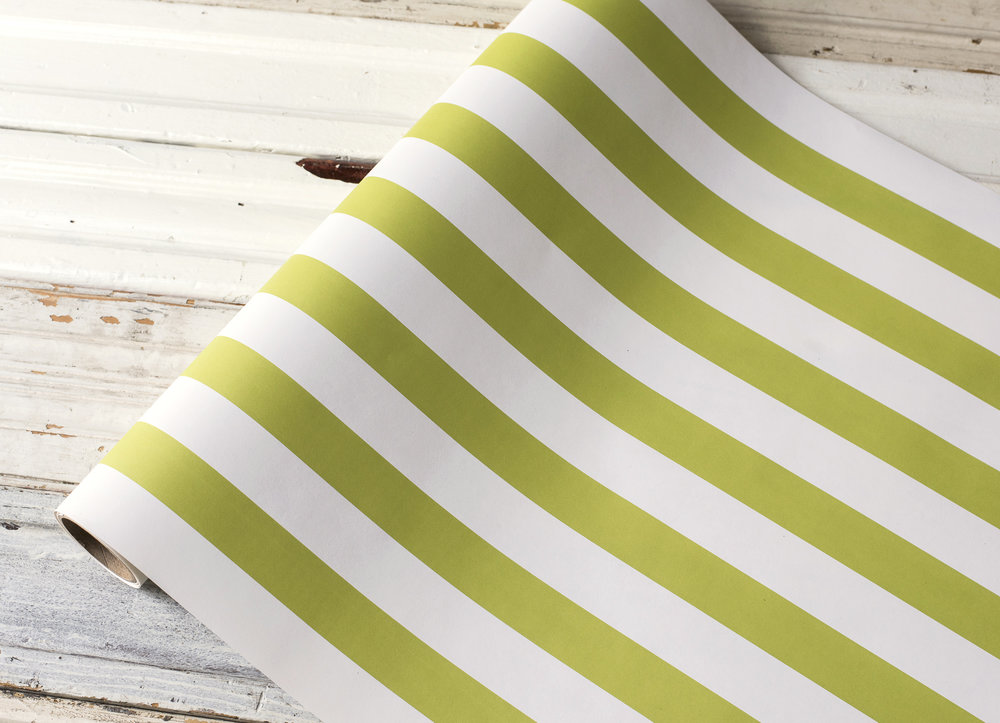 Green Classic Stripe Runner $25