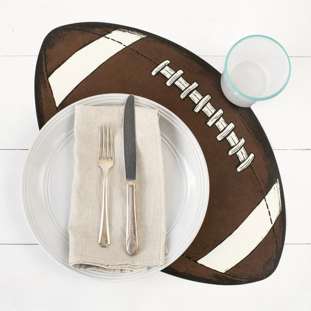 FOOTBALL PLACEMATS $29
