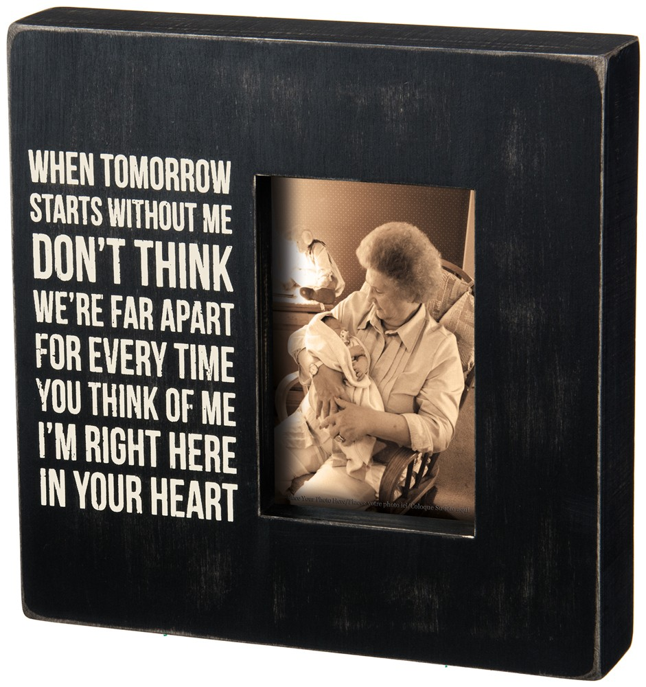 In Your Heart Box Frame $26