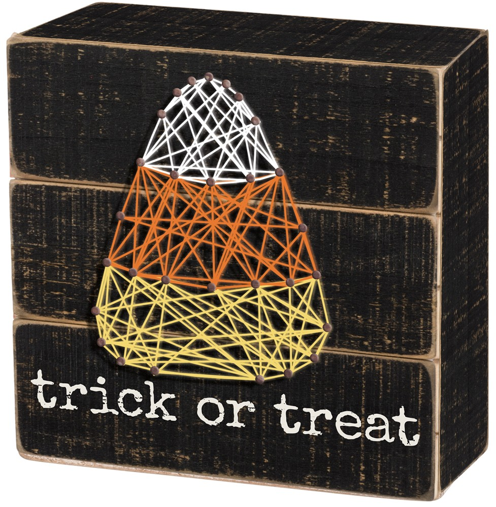 Trick or Treat String Art $20