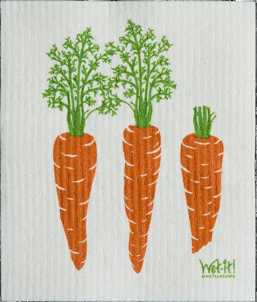 Carrots Swedish Cloth $6