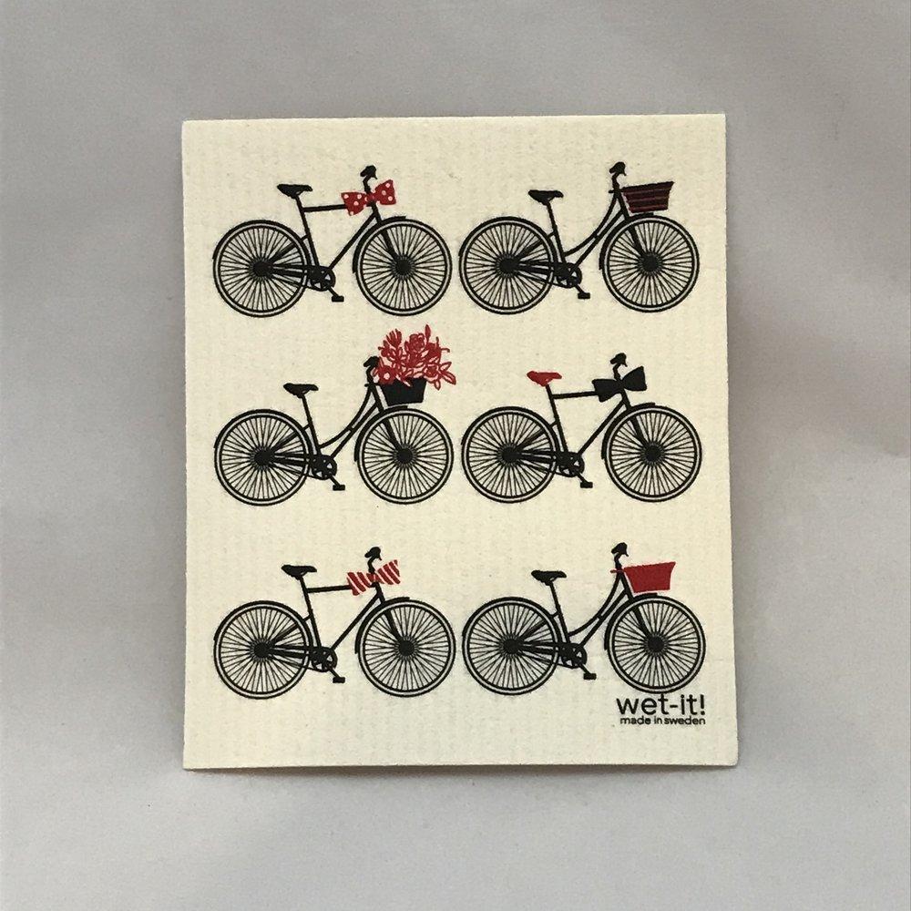 Bikes Swedish Cloth $6