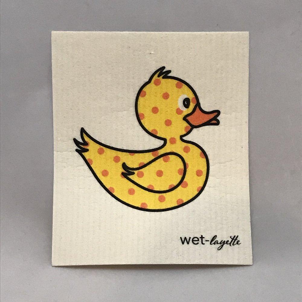 Yellow Duck Swedish Cloth $6