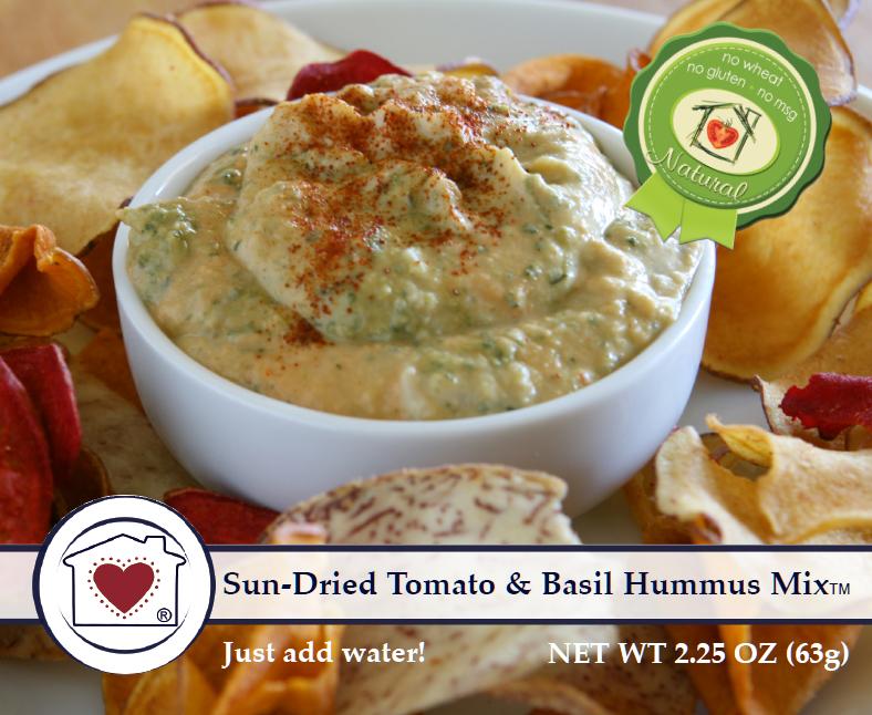 Sun Dried Tomato Hummus Mix $6