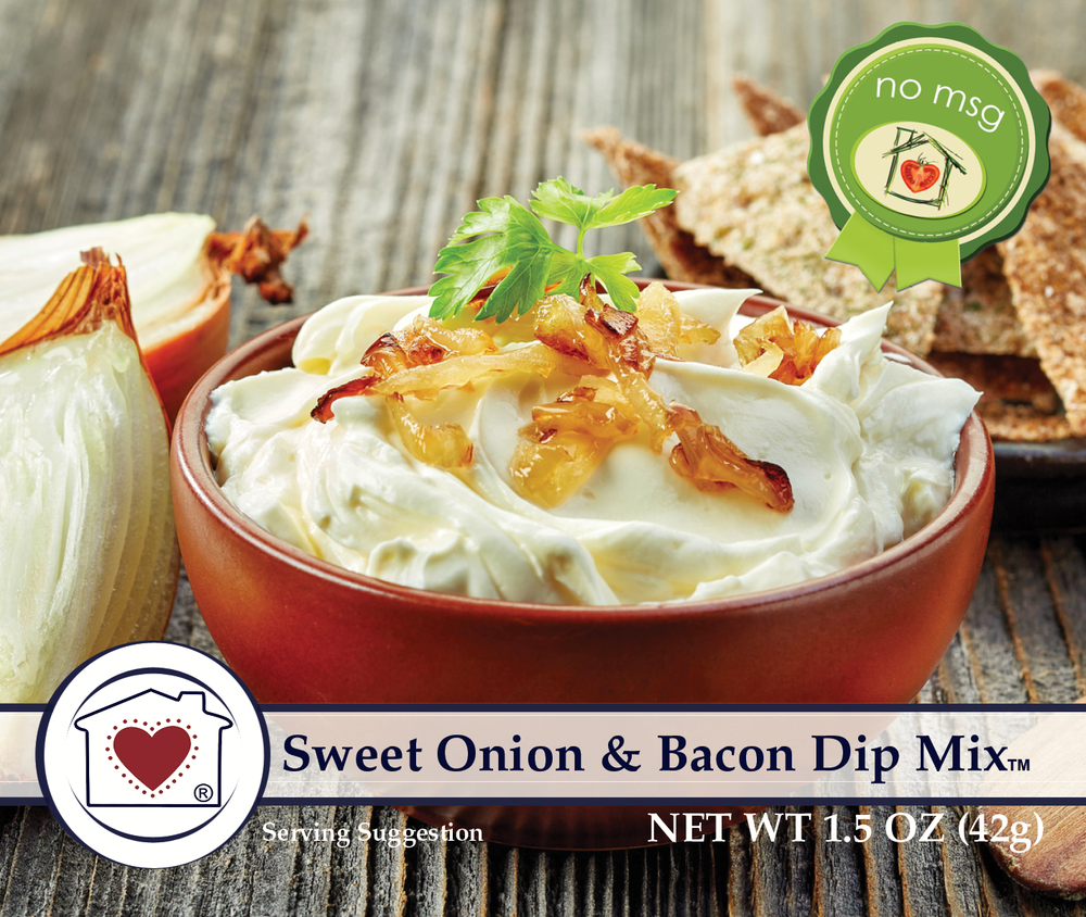 Onion and Bacon Dip Mix $6