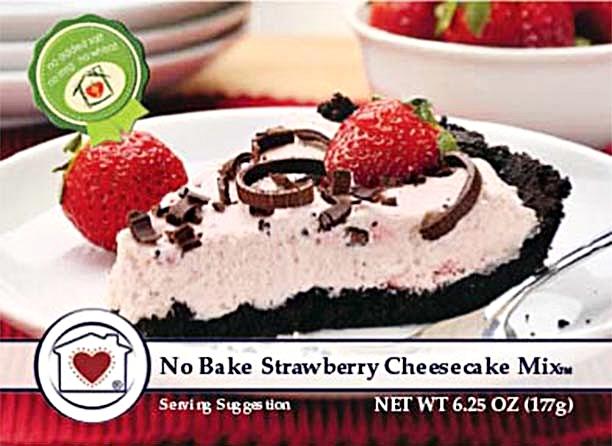No Bake Strawberry Cheesecake $8