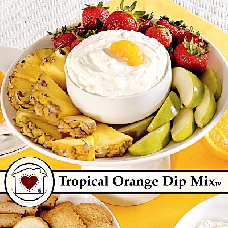 Tropical Orange Dip Mix $6