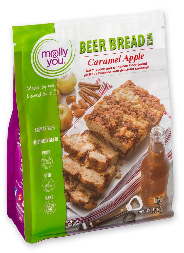 Caramel Apple Beer Bread Mix $10