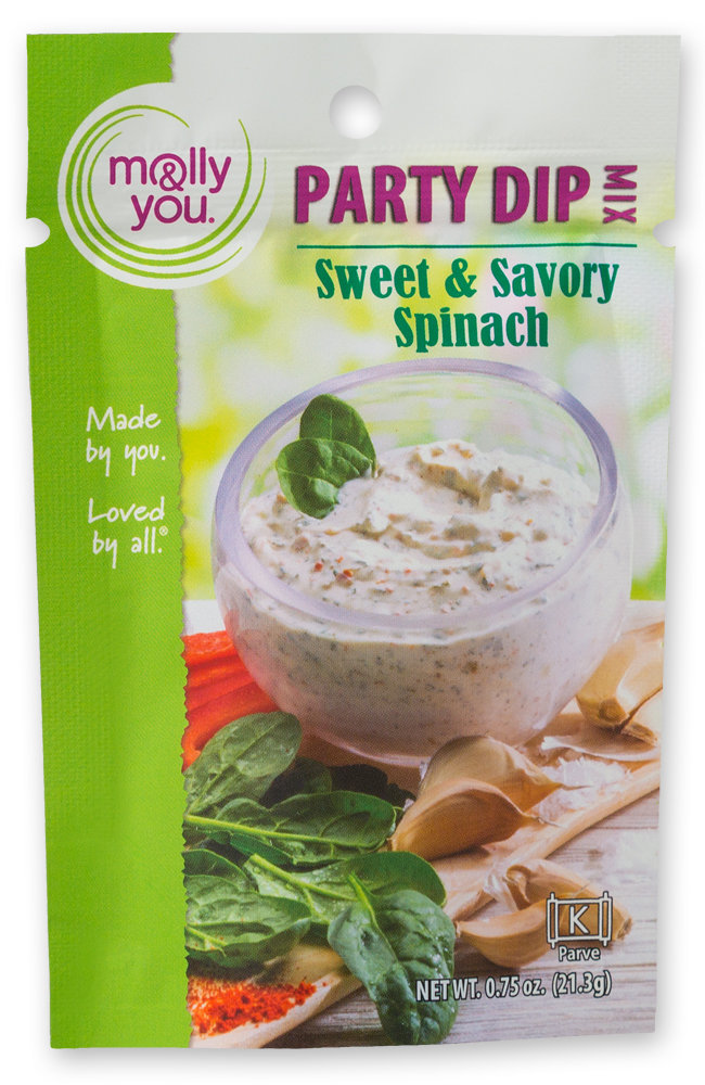 Sweet & Savory Spinach Party Dip Mix $5