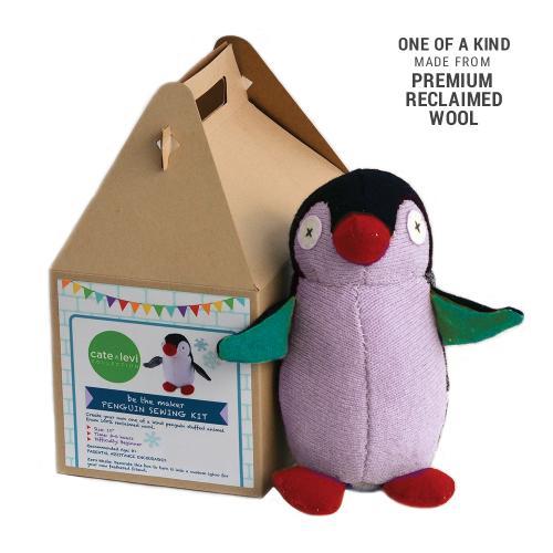 Penguin Stuffed Animal Making Kit $30
