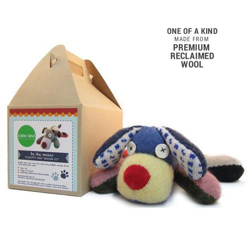 Scrappy Dog Stuffed Animal Making Kit $30