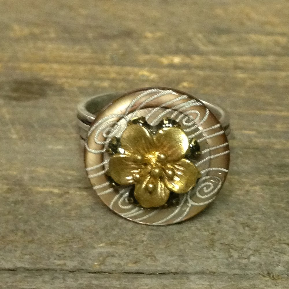 Wind Flower Ring $60