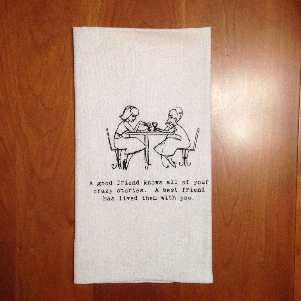 Retro Louise Dish Towel $8