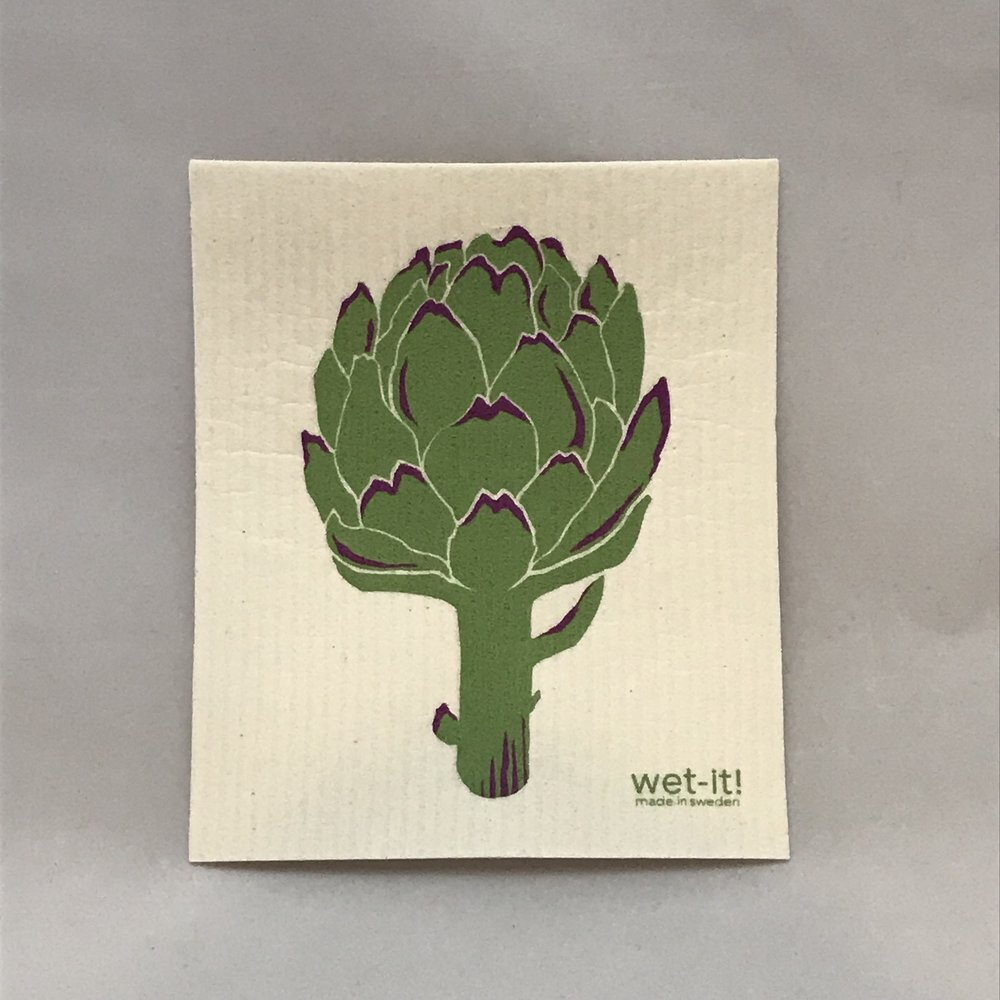 Artichoke Swedish Cloth $6