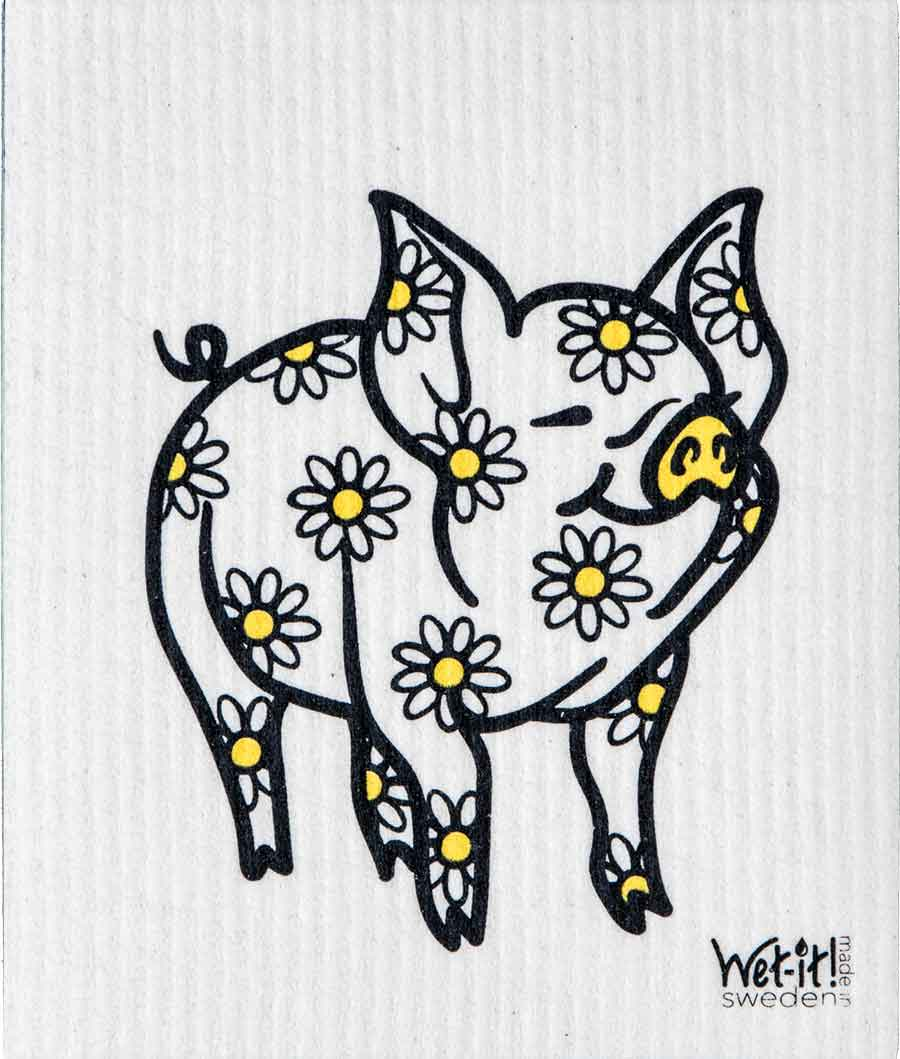Daisy Pig Swedish Cloth $6