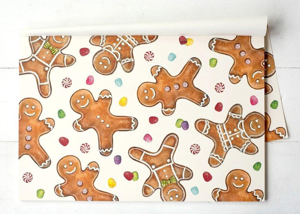 Gingerbread Men Placemats $29