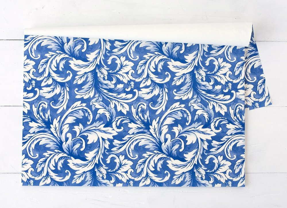 China Blue Acanthus Placemats $29