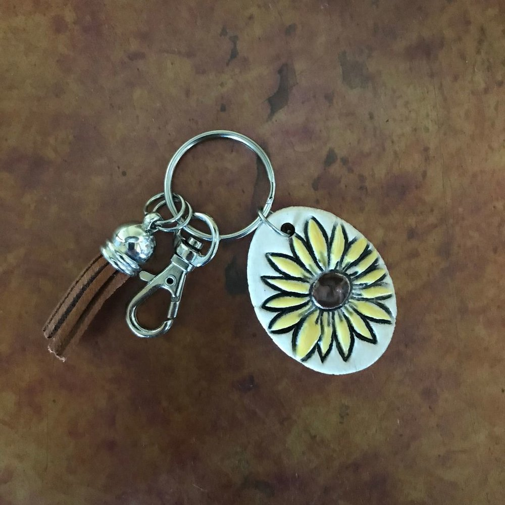 Sunflower Key Ring $16