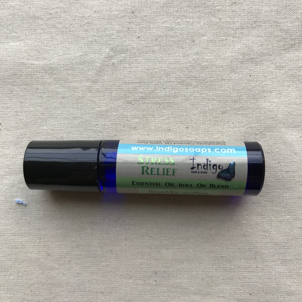 Essential Oils - Stress Relief Roll On Blend $15