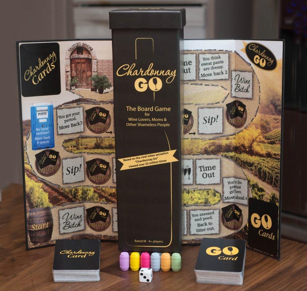Chardonnay Go Board Game $34
